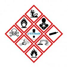 Etichete substante chimice, conform Regulamentului CLP