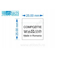 Etichete Compozitie
