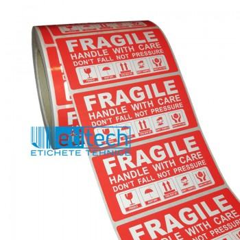 Etichete FRAGILE