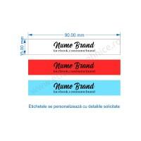 Etichete Textile personalizate din Satin